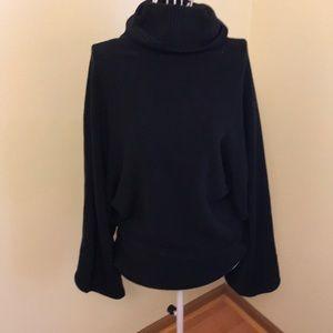 BCBG sweater bell sleeved tight waist